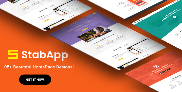 StabApp Preview Wordpress Theme - Rating, Reviews, Preview, Demo & Download