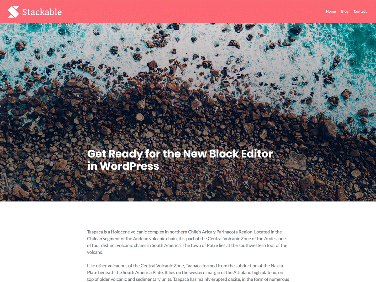 Stackable Preview Wordpress Theme - Rating, Reviews, Preview, Demo & Download