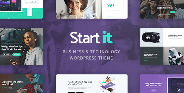 Start It Preview Wordpress Theme - Rating, Reviews, Preview, Demo & Download