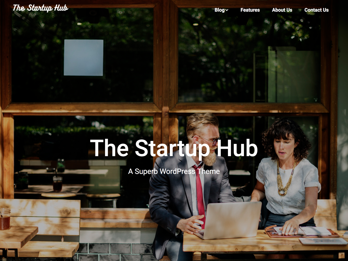 Startup Hub Preview Wordpress Theme - Rating, Reviews, Preview, Demo & Download