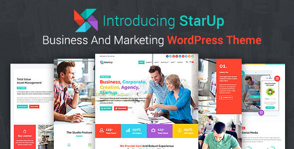 StarUp Preview Wordpress Theme - Rating, Reviews, Preview, Demo & Download