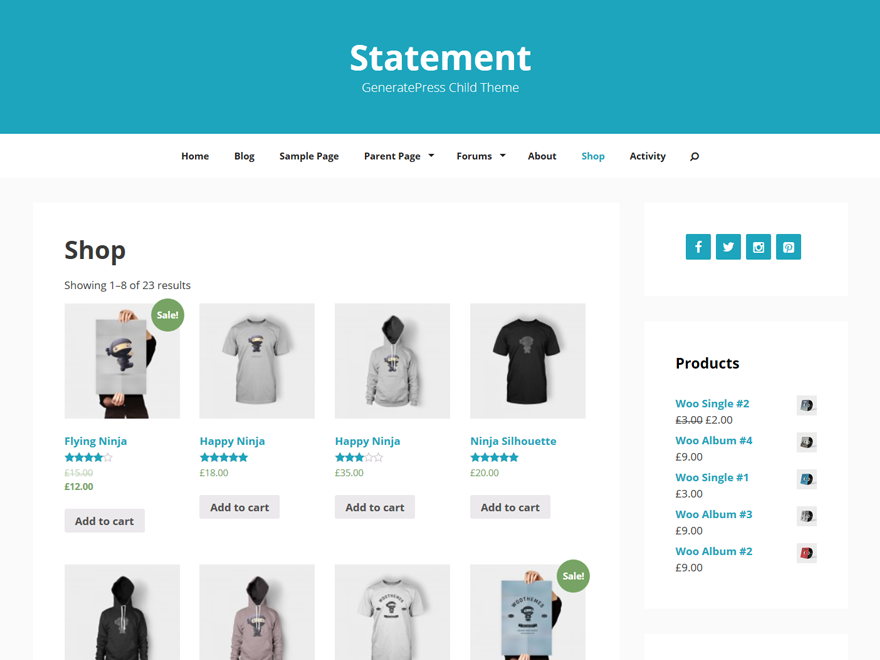 Statement Preview Wordpress Theme - Rating, Reviews, Preview, Demo & Download