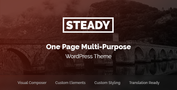 Steady Preview Wordpress Theme - Rating, Reviews, Preview, Demo & Download