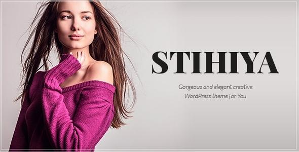 Stihiya Preview Wordpress Theme - Rating, Reviews, Preview, Demo & Download