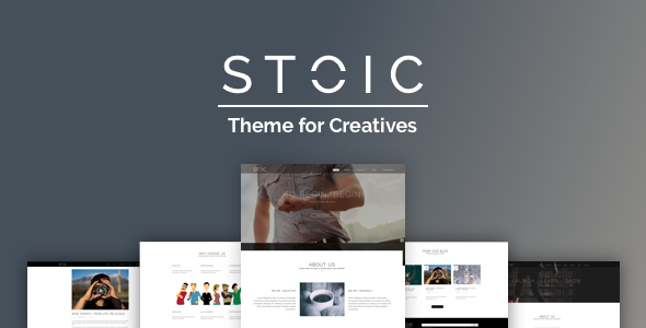Stoic Preview Wordpress Theme - Rating, Reviews, Preview, Demo & Download