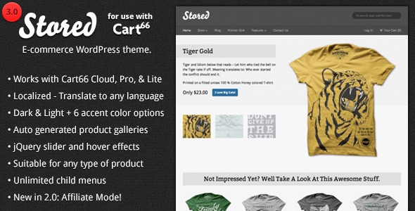Stored Preview Wordpress Theme - Rating, Reviews, Preview, Demo & Download