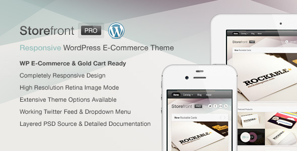 Storefront Pro Preview Wordpress Theme - Rating, Reviews, Preview, Demo & Download