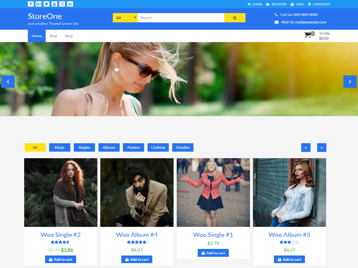 StoreOne Preview Wordpress Theme - Rating, Reviews, Preview, Demo & Download