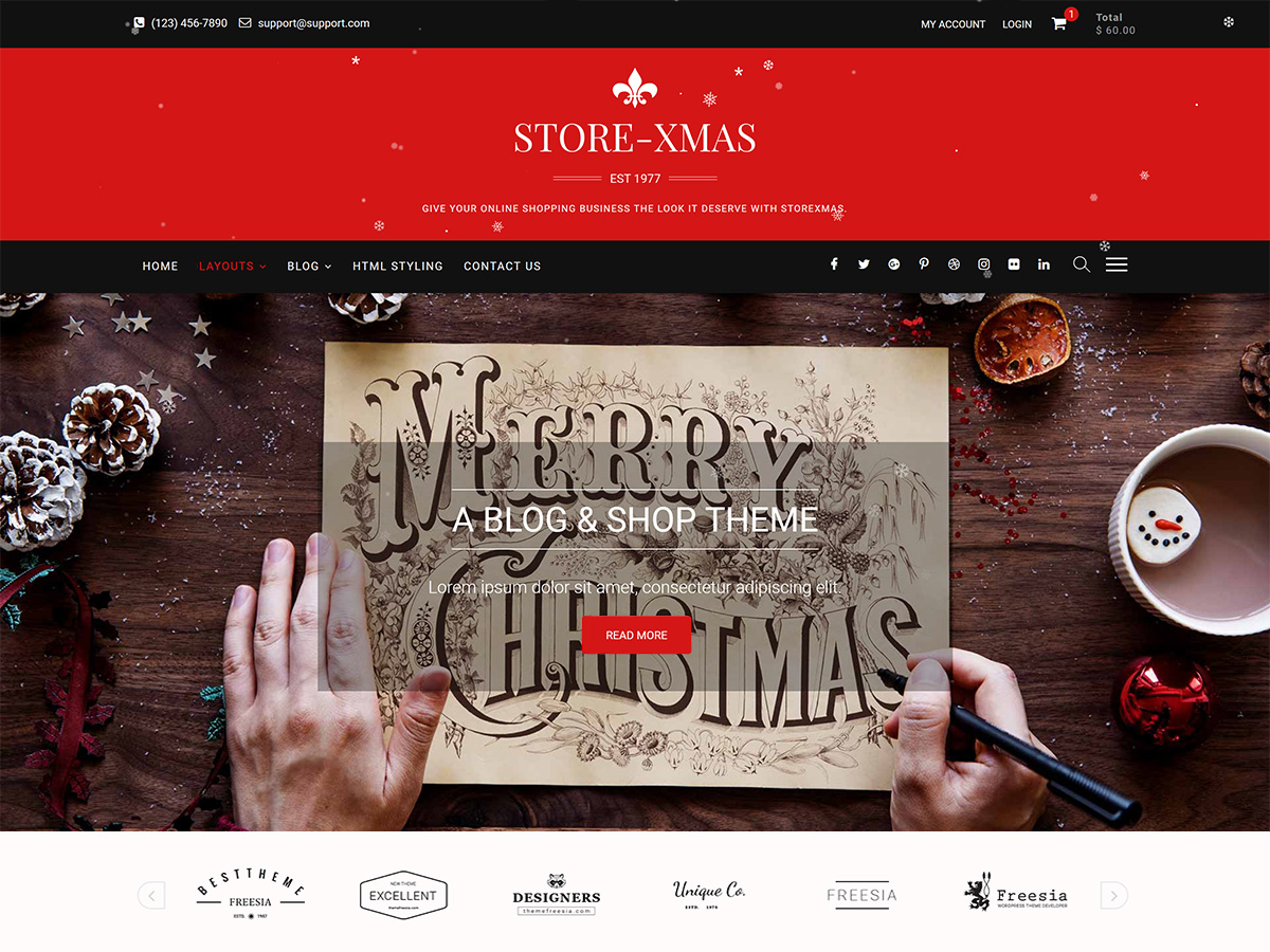 StoreXmas Preview Wordpress Theme - Rating, Reviews, Preview, Demo & Download