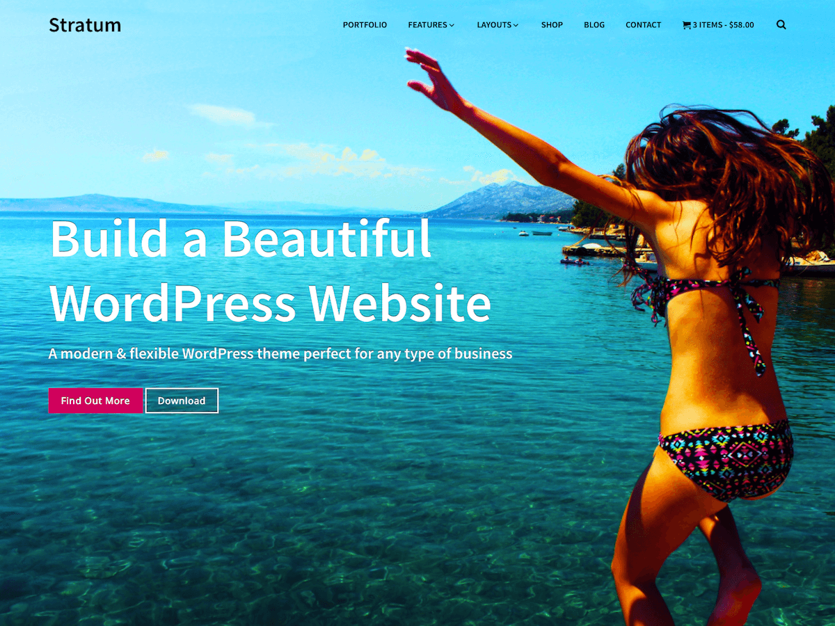 Stratum Preview Wordpress Theme - Rating, Reviews, Preview, Demo & Download