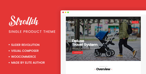 Strollik Preview Wordpress Theme - Rating, Reviews, Preview, Demo & Download
