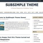 SubSimple