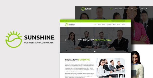 Sunshine Preview Wordpress Theme - Rating, Reviews, Preview, Demo & Download