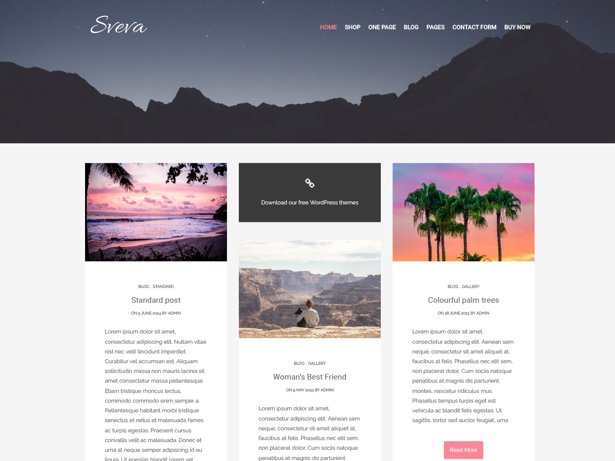 Sveva Preview Wordpress Theme - Rating, Reviews, Preview, Demo & Download