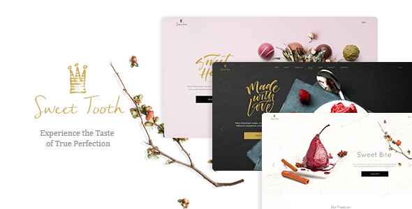 Sweet Tooth Preview Wordpress Theme - Rating, Reviews, Preview, Demo & Download