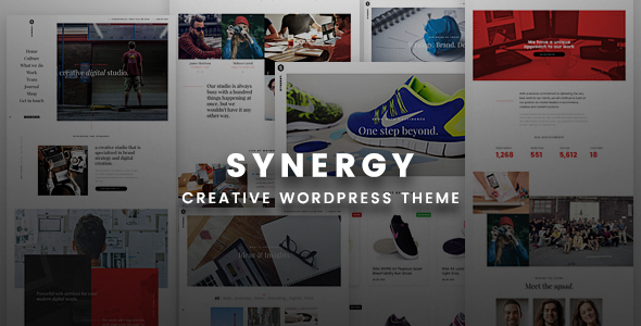 Synergy Creative Preview Wordpress Theme - Rating, Reviews, Preview, Demo & Download