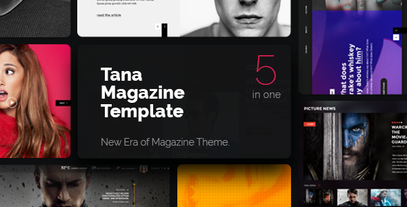 Tana Magazine Preview Wordpress Theme - Rating, Reviews, Preview, Demo & Download