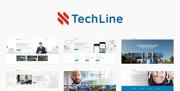 TechLine Preview Wordpress Theme - Rating, Reviews, Preview, Demo & Download