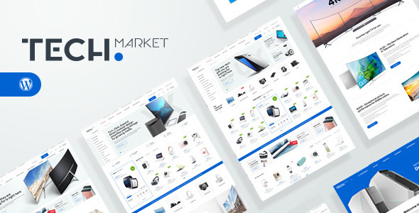 Techmarket Preview Wordpress Theme - Rating, Reviews, Preview, Demo & Download