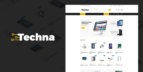 Techna Preview Wordpress Theme - Rating, Reviews, Preview, Demo & Download