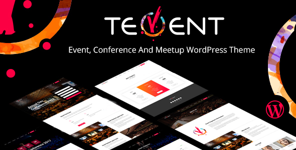 Tevent Preview Wordpress Theme - Rating, Reviews, Preview, Demo & Download