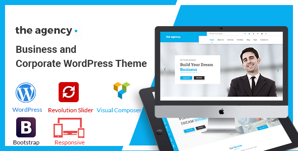The Agency Preview Wordpress Theme - Rating, Reviews, Preview, Demo & Download