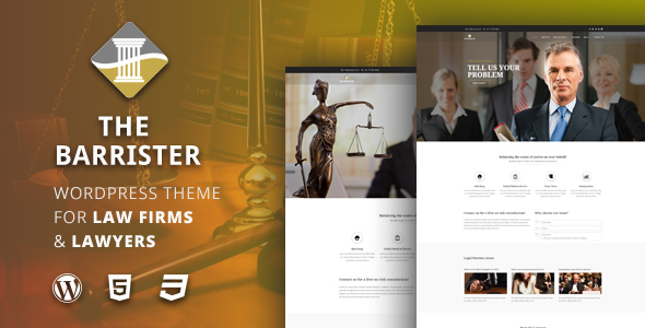 The Barrister Preview Wordpress Theme - Rating, Reviews, Preview, Demo & Download