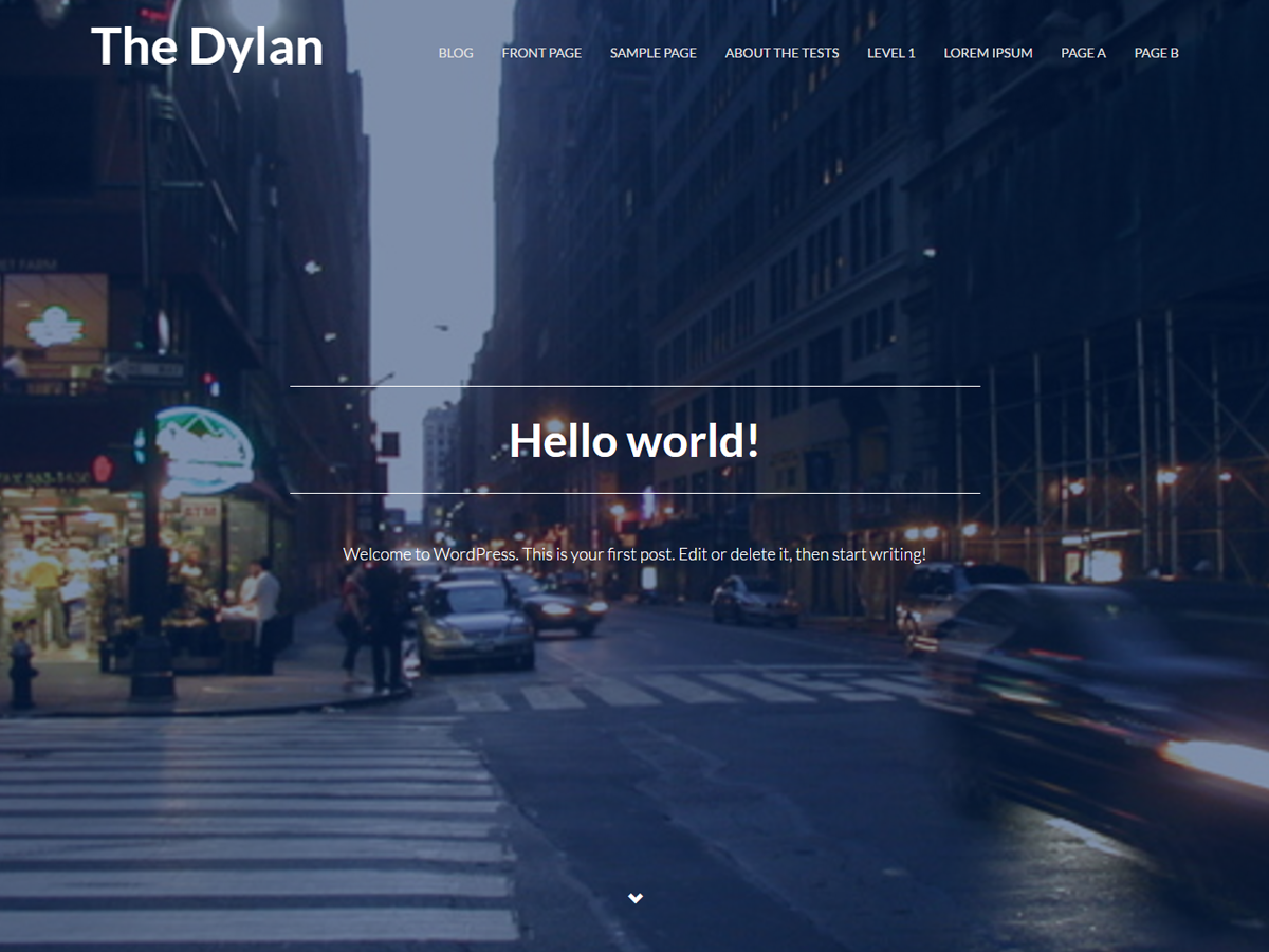 The Dylan Preview Wordpress Theme - Rating, Reviews, Preview, Demo & Download