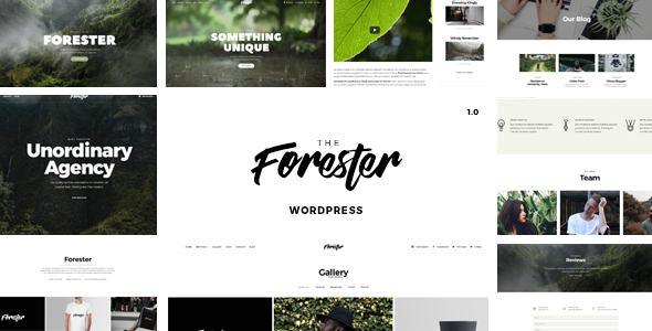 The Forester Preview Wordpress Theme - Rating, Reviews, Preview, Demo & Download