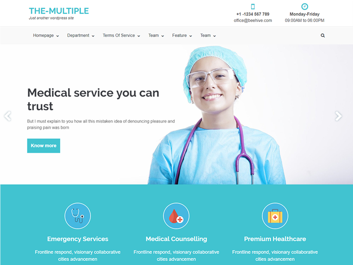 The Multiple Preview Wordpress Theme - Rating, Reviews, Preview, Demo & Download