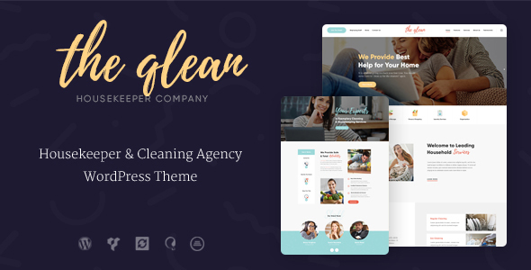 The Qlean Preview Wordpress Theme - Rating, Reviews, Preview, Demo & Download