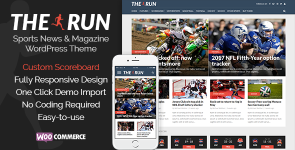 The Run Preview Wordpress Theme - Rating, Reviews, Preview, Demo & Download