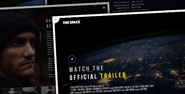 The Space Preview Wordpress Theme - Rating, Reviews, Preview, Demo & Download