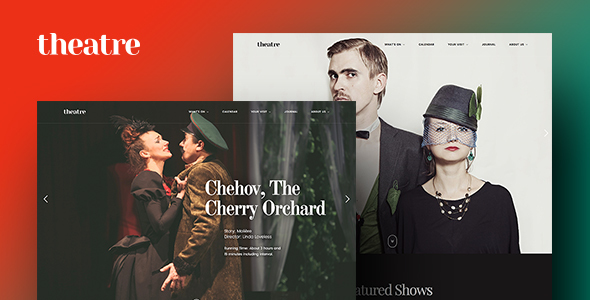 Theatre WP Preview Wordpress Theme - Rating, Reviews, Preview, Demo & Download