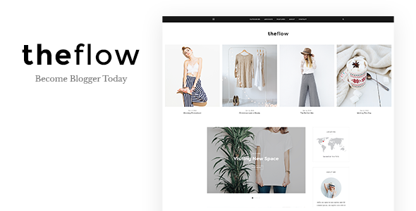 TheFlow Preview Wordpress Theme - Rating, Reviews, Preview, Demo & Download