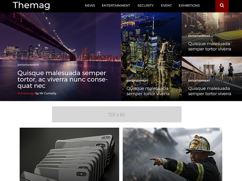 Themaga Preview Wordpress Theme - Rating, Reviews, Preview, Demo & Download
