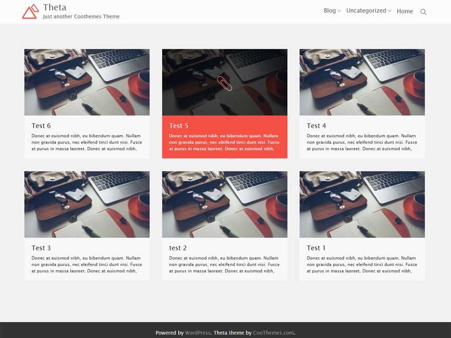 Theta Preview Wordpress Theme - Rating, Reviews, Preview, Demo & Download