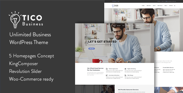 Tico Preview Wordpress Theme - Rating, Reviews, Preview, Demo & Download