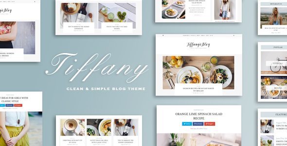 Tiffany Preview Wordpress Theme - Rating, Reviews, Preview, Demo & Download