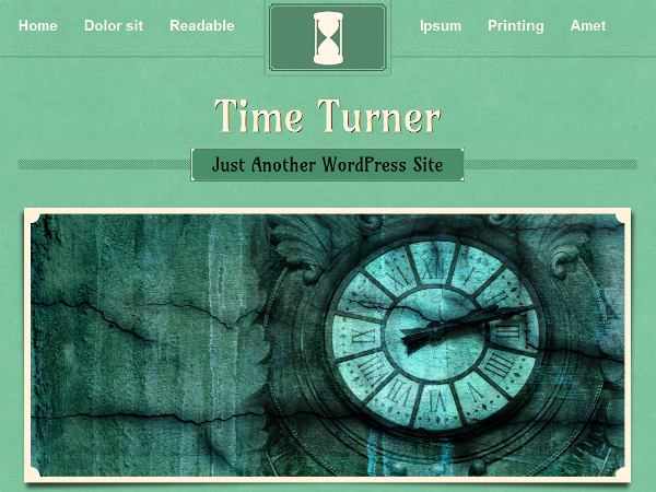 TimeTurner Preview Wordpress Theme - Rating, Reviews, Preview, Demo & Download