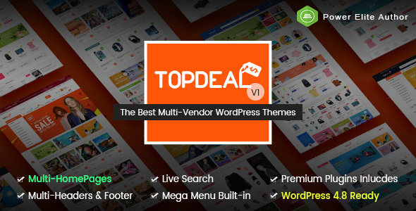 TopDeal Preview Wordpress Theme - Rating, Reviews, Preview, Demo & Download