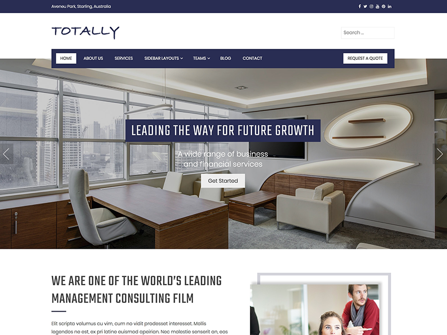 Totally Preview Wordpress Theme - Rating, Reviews, Preview, Demo & Download
