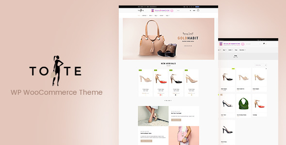 Tote Preview Wordpress Theme - Rating, Reviews, Preview, Demo & Download