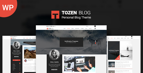 Tozen Preview Wordpress Theme - Rating, Reviews, Preview, Demo & Download