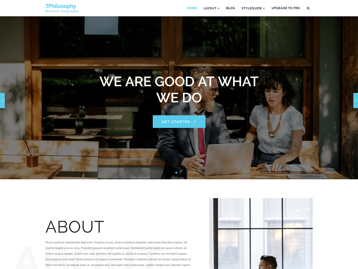 TP Philosophy Preview Wordpress Theme - Rating, Reviews, Preview, Demo & Download