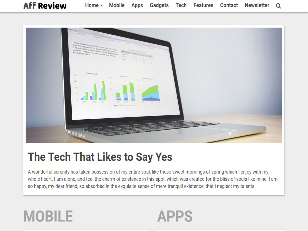 Tr Affreview Preview Wordpress Theme - Rating, Reviews, Preview, Demo & Download