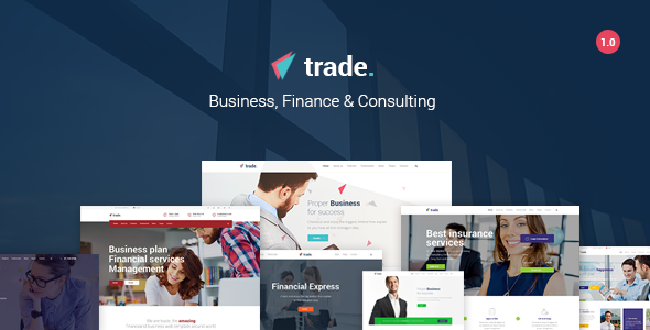 Trade Preview Wordpress Theme - Rating, Reviews, Preview, Demo & Download