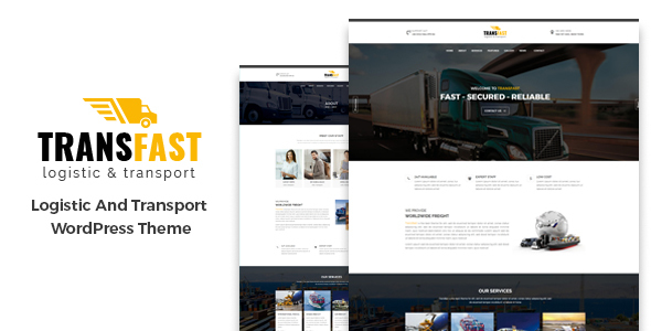 Transfast Preview Wordpress Theme - Rating, Reviews, Preview, Demo & Download