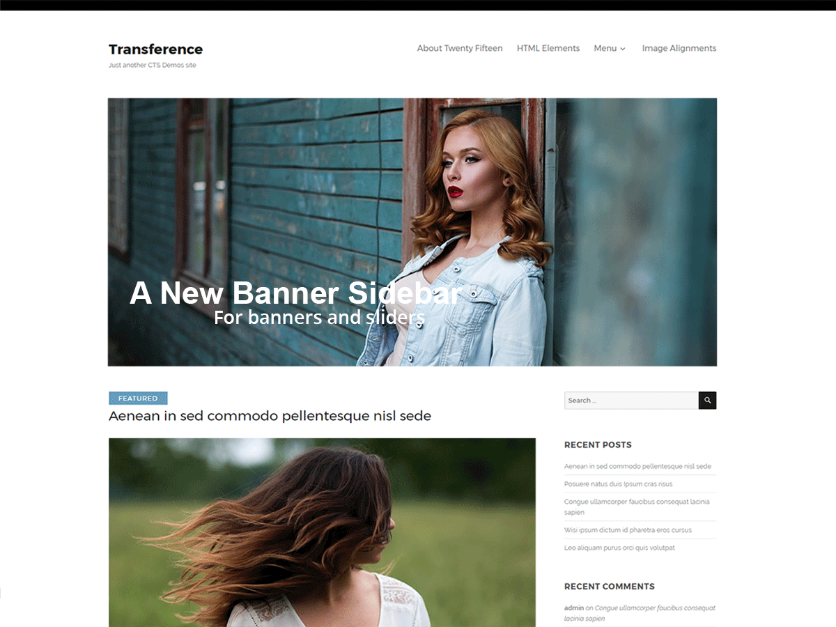 Transference Preview Wordpress Theme - Rating, Reviews, Preview, Demo & Download