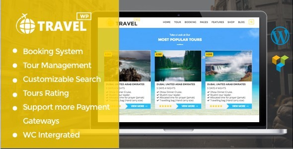 Travelwp Preview Wordpress Theme - Rating, Reviews, Preview, Demo & Download